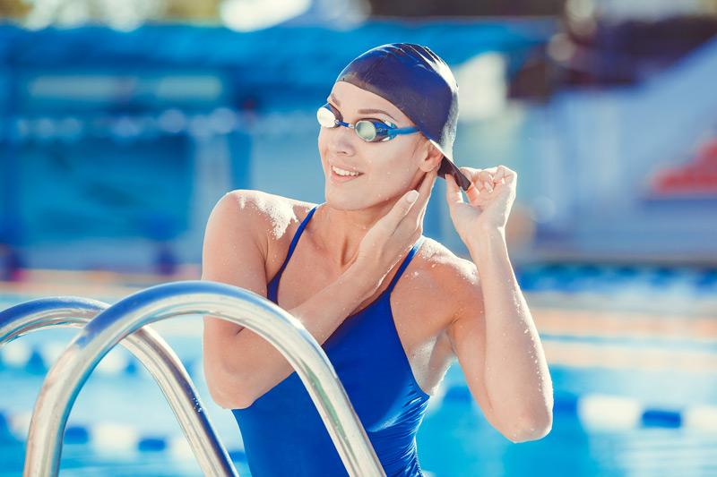 Swim Caps and Swim Wear