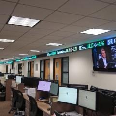 Ticker Tape Display Stay Informed Market Update