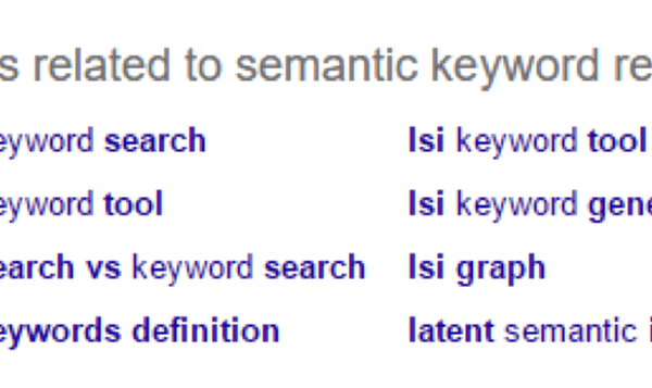 Semantic Keyword Research