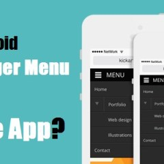 Why to Avoid Hamburger Menu in your Mobile App