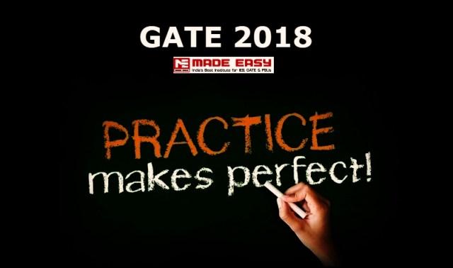 GATE 2018 Mock test