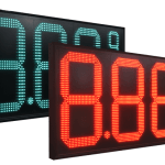 LED Gas Price Signs and their Benefits