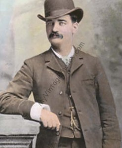 "William Barclay ""Bat"" Masterson 1879"