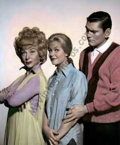 Agness Moorehead, Elizabeth Montgomery & Dick York, Bewitched 1960s