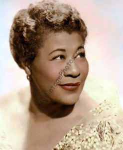 Ella Fitzgerald, aka the First Lady of Song