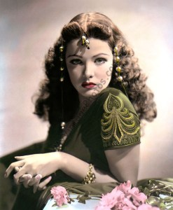 Gene Tierney Sundown