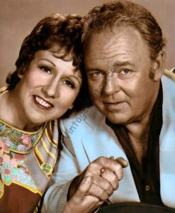 Jean Stapleton & Carroll O'Connor, All in the Family