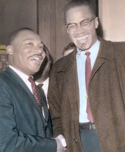 Dr. Martin Luther King, Jr. & Malcolm X