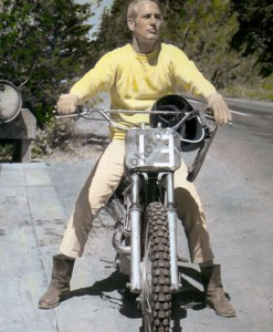 Paul Newman Motorcycle