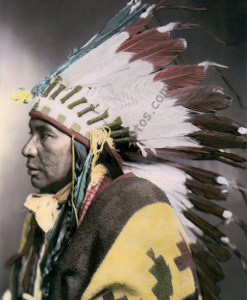 Shoshone Native American Indian 1899