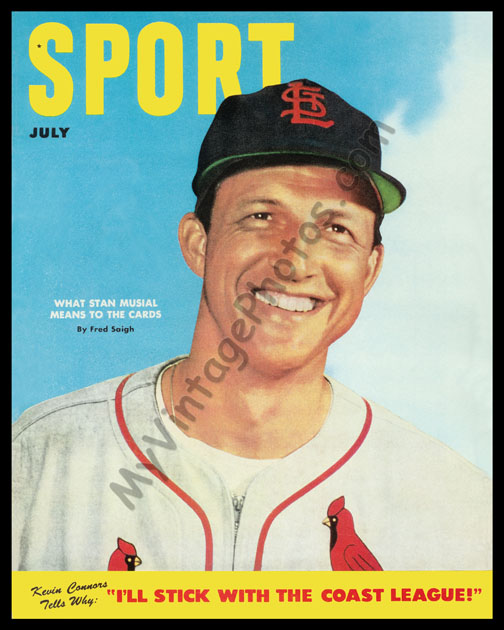 Stan Musial SPORT magazine July 1952