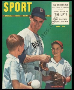 Ted Williams April 1948