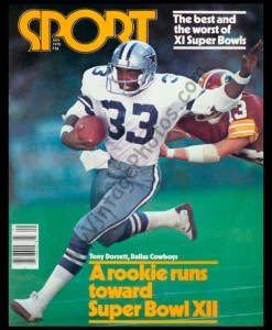 Tony Dorsett January 1978