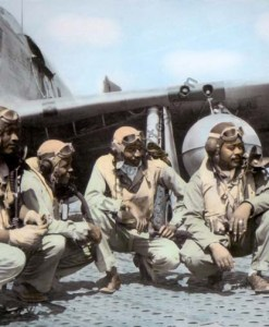 The Tuskegee Airmen, P-51 Mustang Group WWII 1944