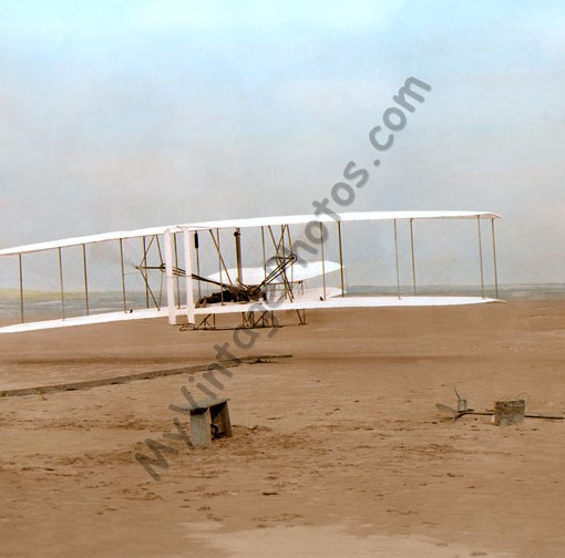 The Wright Brothers 1st flight