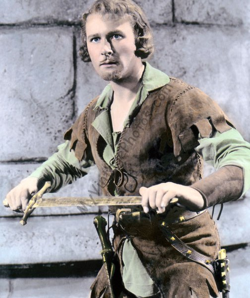 Errol Flynn, The Adventures of Robin Hood 1938