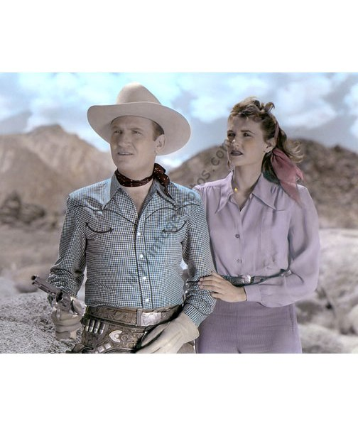 Gene Autry & Peggy Stewart, Trail to San Antone 1947