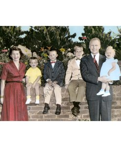 President Gerald Ford and family, 1958