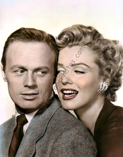 Richard Widmark & Marilyn Monroe, Don't Bother to Knock
