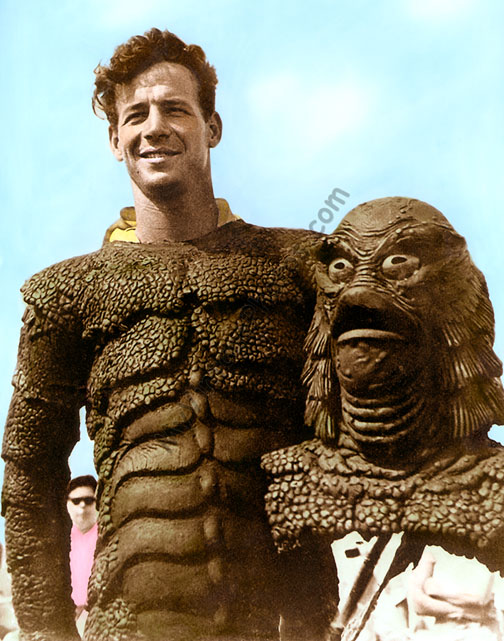 Ricou Browning, Creature From the Black Lagoon 1954