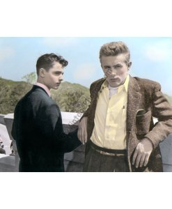 Sal Mineo & James Dean, Rebel Without a Cause 1955