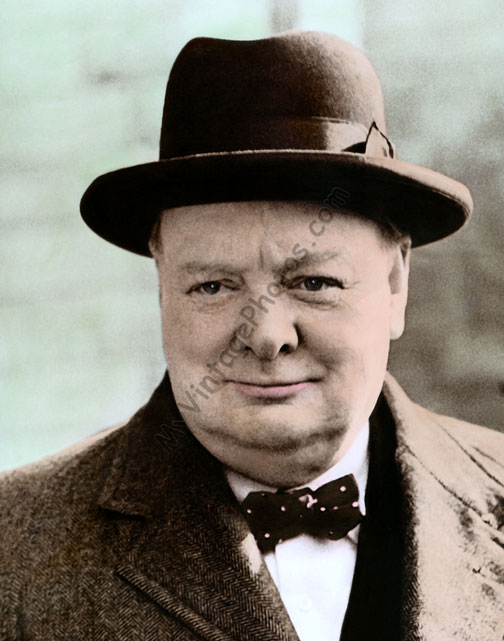 British Prime Minister, Sir Winston Churchill