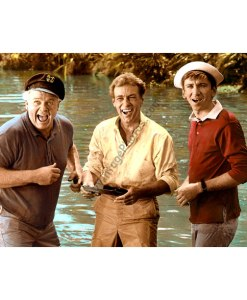 Alan Hale, Jr., Russell Johnson & Bob Denver, Gilligan's Island 1960s