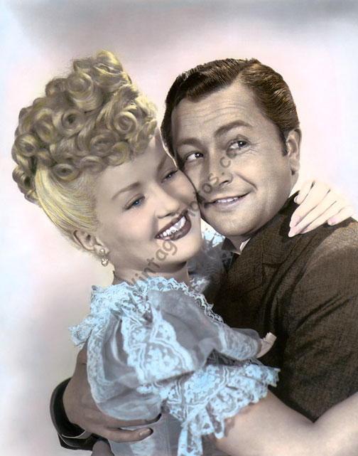 Betty Grable & Robert Young, Sweet Rosie O'Grady 1943