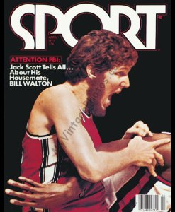 Bill Walton, SPORT magazine April 1977