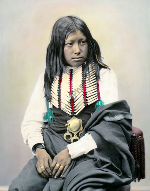 Buffalo Horn, Comanche Native American 1872