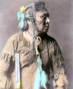 Horse Capture, Atsina Native American Indian 1908