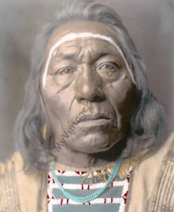 Leads Wolf, Montana Crow Native American Indian, 1908