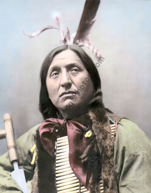 Left Hand Bear, Oglala Sioux Native American Indian 1899