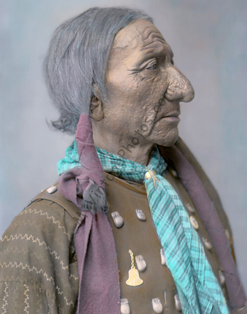 Long Bull, Chief Oglala Sioux Native American Indian