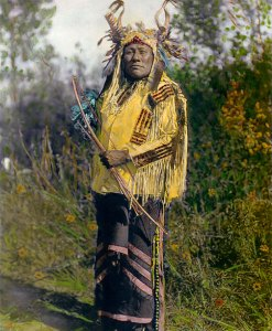 Long Time Dog, Hidatsa Native American Indian 1908