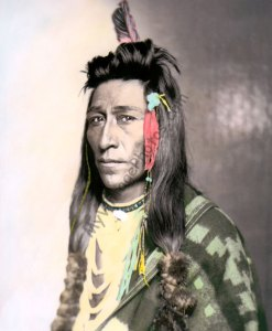 Measaw, Shoshone Native American Indian 1899