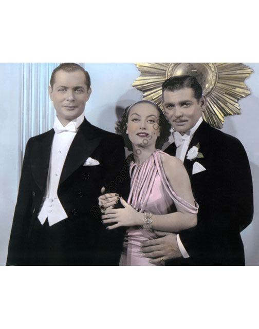 Robert Montgomery, Joan Crawford & Clark Gable, Forsaking All Others 1934