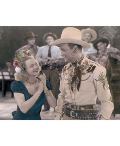 Dale Evans & Roy Rogers, Roll on Texas Moon 1946