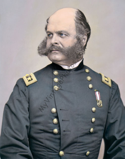 Major General Ambrose Burnside