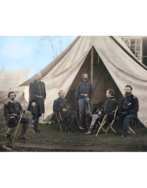 Commanders of the Army of the Potomac at Culpeper VA 1863