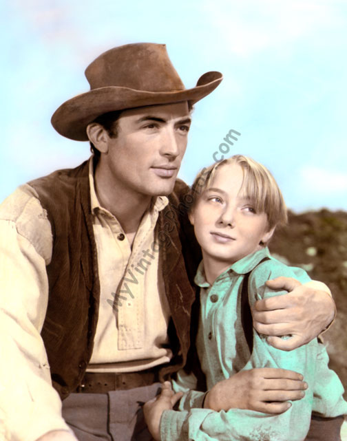 Gregory Peck & Claude Jarman Jr. The Yearling 1946