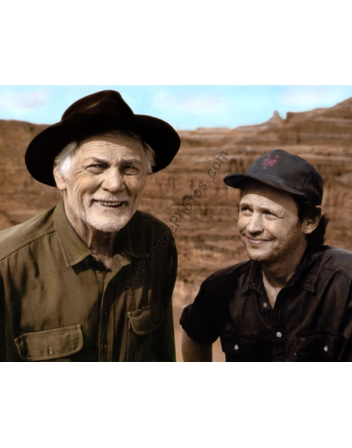 Jack Palance & Billy Crystal, City Slickers 1991