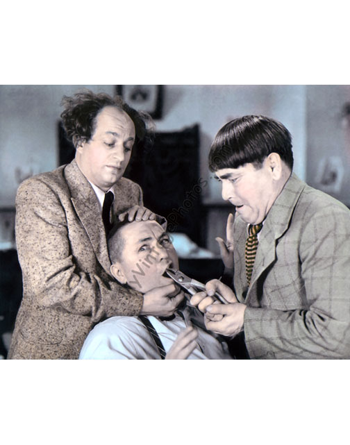 Larry Fine, Curly Howard & Moe Howard, The Three Stooges