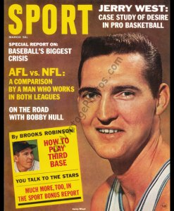 Jerry West, March 1965