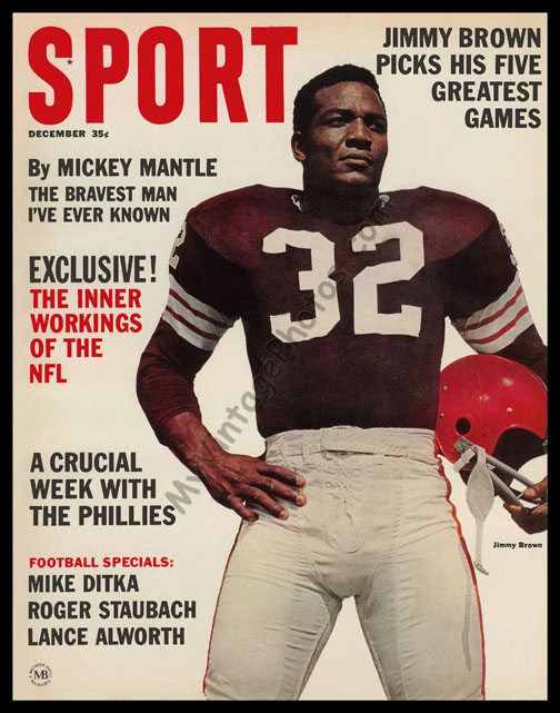 Jim Brown, December 1964