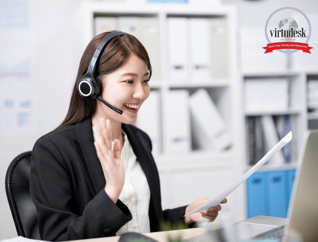 How-to-become-a-virtual-assistant-woman-call