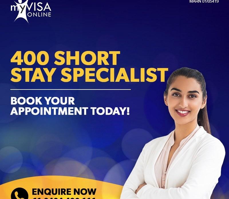 400 Short Stay Specialist Visa