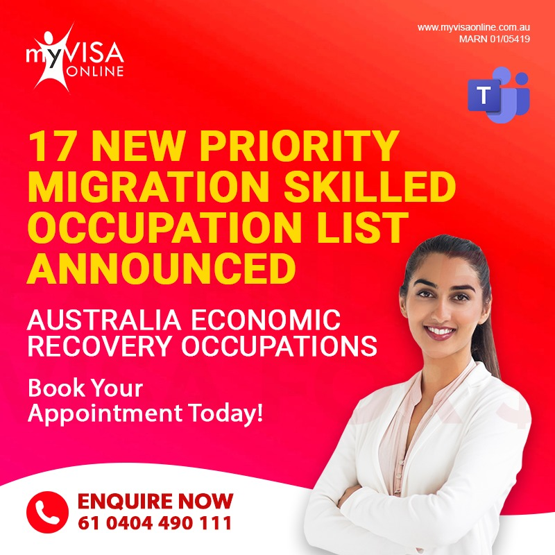 New Priority Migration Skilled Occupation List