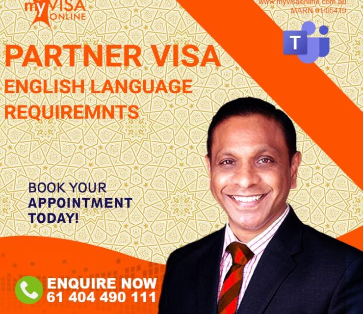 Partner VISA and English Language Requirements'