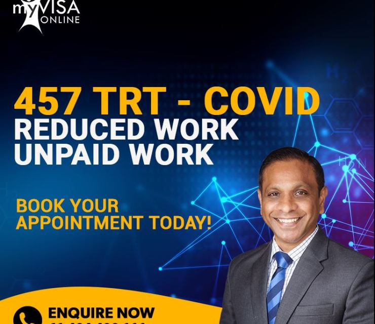 Transitional COVID Affected 457 TRT Applicants
